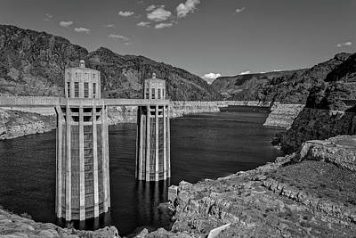 Photograph - Hovver Dam by Peter Lakomy