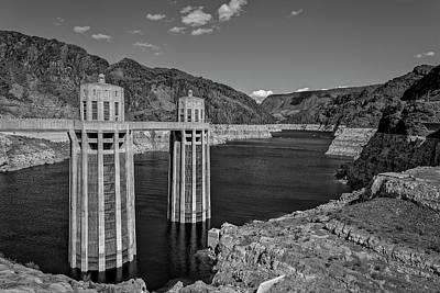 Photograph - Hovver Dam by Peter Lakomy