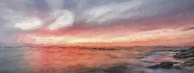 Shore Digital Art - How It Can End II by Jon Glaser