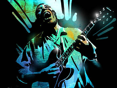 Painting - Howlin Wolf by Paul Sachtleben