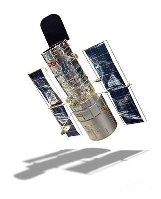 Aperture Photograph - Hubble Space Telescope by Detlev van Ravenswaay