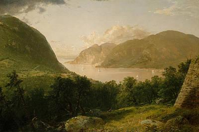 River Scenes Painting - Hudson River Scene by John Frederick Kensett