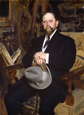 Anders Zorn Painting - Hugo Reisinger by Anders Zorn