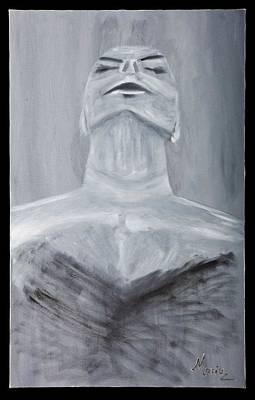 Inferiority Painting - Humility by Marinela Croitoru