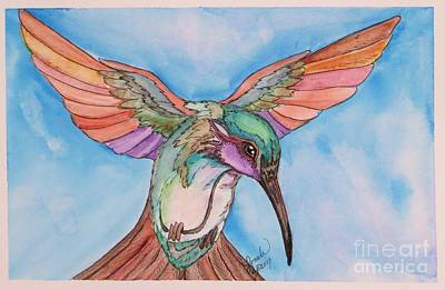 Painting - Hummingbird by Lorah Tout