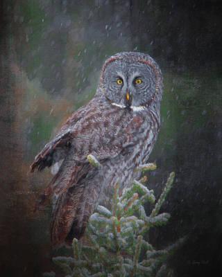 Digital Art - Hunting In The Bog by Gerry Sibell