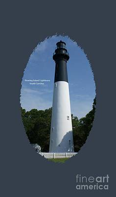 Hunting Island Lighthouse Art Print by Roger Potts