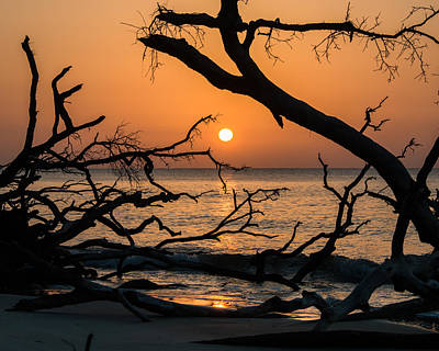 Photograph - Hunting Island Sunrise by Lynne Jenkins