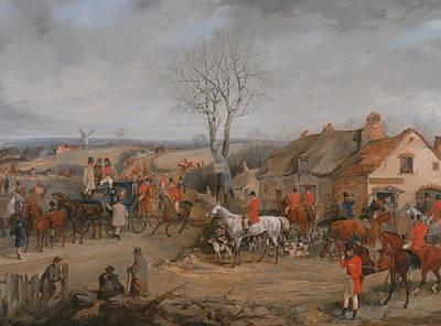 Painting - Hunting Scene - The Meet by Treasury Classics Art