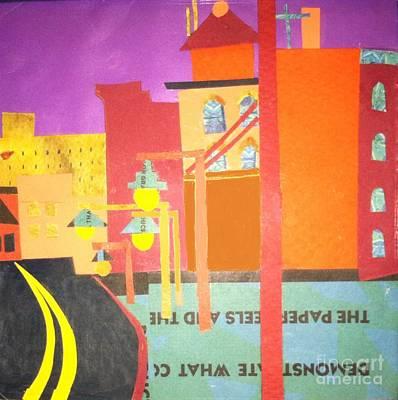 Mixed Media - Huntington Avenue by Debra Bretton Robinson