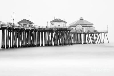 Photograph - Huntington Beach Pier In June  by Bryan Keil