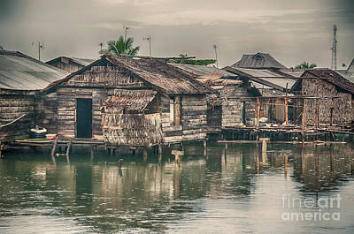 Photograph - Huts by Charuhas Images