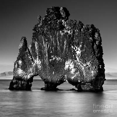 Photograph - Hvitserkur Iceland by Gunnar Orn Arnason