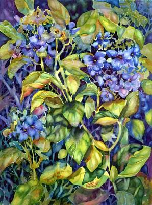 Painting - Hydrangea by Ann Nicholson