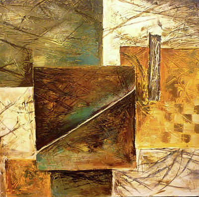Mohammad Painting - Hyper Cube by Hanieh Mohammad Bagher