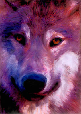 I Am Wolf Clan Art Print