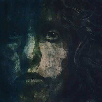 Vocalist Painting - I Can See For Miles by Paul Lovering
