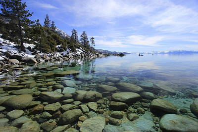 Photograph - I Love Lake Tahoe by Sean Sarsfield
