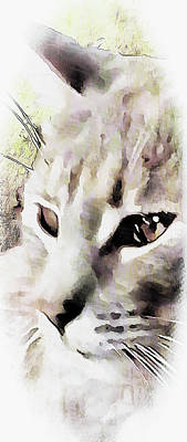 Digital Art - I See You by Dorothy Berry-Lound