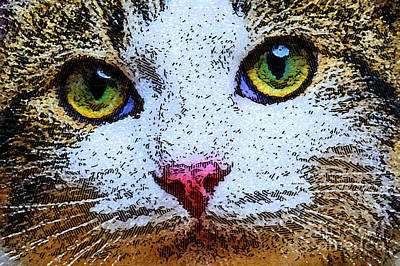 Digital Art - I See You by Rafael Salazar