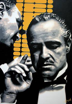 Tom Hagen Painting - I Want You To Kill Him by Hood alias Ludzska