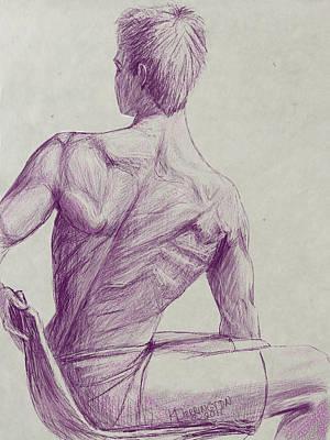Ian's Back Art Print by Khaila Derrington