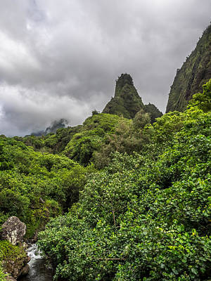 Photograph - Iao Valley by David Attenborough