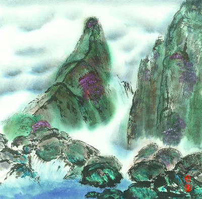 Wailuku Painting - Iao Valley by Marilyn Allysum