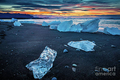 Photograph - Ice Beach by Inge Johnsson