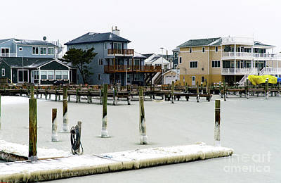 Photograph - Ice In The Bay At Long Beach Island by John Rizzuto