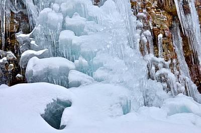 Photograph - Ice Mosaic by Cornelia DeDona