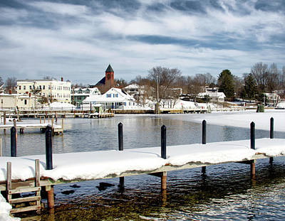 Photograph - Ice Out by WolfeboroGifts Galleries