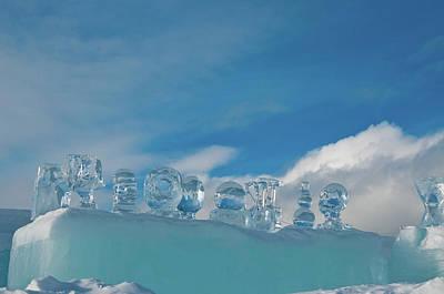 Photograph - Ice Sculpture by Tamara Sushko