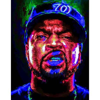 Celebrities Wall Art - Photograph - @icecube #icecube #osheajackson by David Haskett II