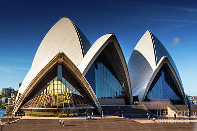 Photograph - Iconic Sydney Opera House by Andrew Michael