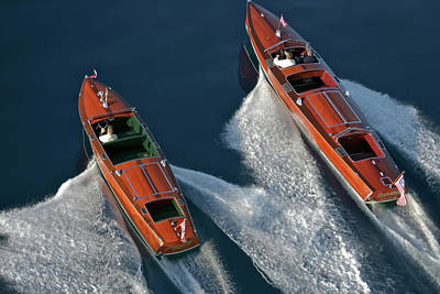 Iconic Wooden Runabouts Art Print