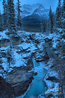 Photograph - Icy Athabasca Falls by Adam Jewell