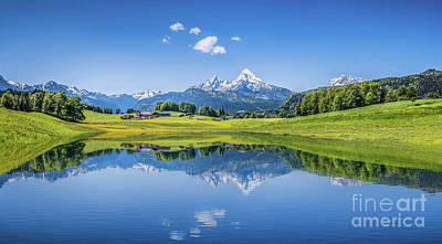 Photograph - The Alpine Garden Of Eden #2 by JR Photography