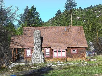 Photograph - Idyllwild Cabin 1383 by Lisa Dunn