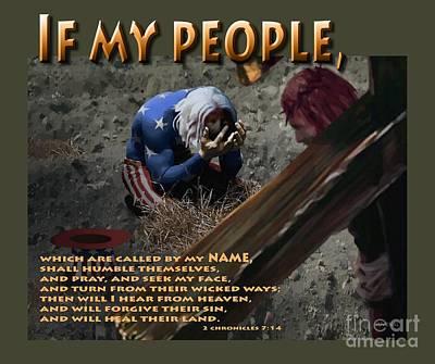 If My People Print by Joseph Juvenal
