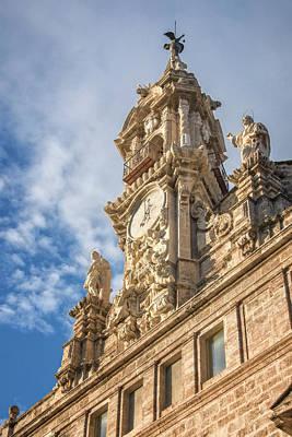 Photograph - Iglesia De Los Santos Juanes Valencia Spain by Joan Carroll