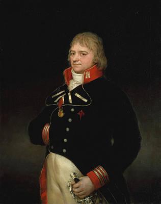 Male Painting - Ignacio Garcini Y Queralt by Francisco Goya