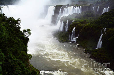 Photograph - Iguazu Falls South America 13 by Bob Christopher