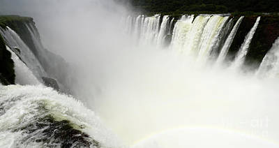 Photograph - Iguazu Falls South America 14 by Bob Christopher