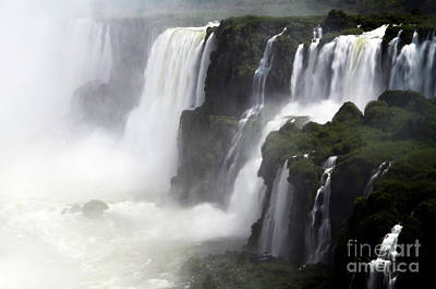 Photograph - Iguazu Falls South America 16 by Bob Christopher