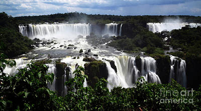 Photograph - Iguazu Falls South America 17 by Bob Christopher