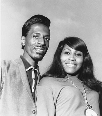 Ike And Tina Turner 1966 Print by Chris Walter