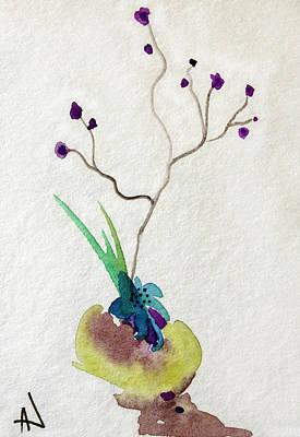 Painting - Ikebana by Patricia Lazaro