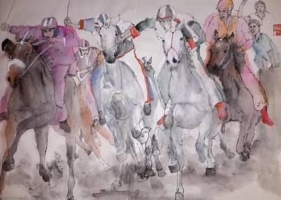 Horserace Painting - Il Palio Di Siena Album by Debbi Saccomanno Chan