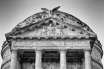 Photograph - Illinois Memorial - Vicksburg by Stephen Stookey